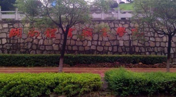 2019年湖南体育职业学院开设专业及招生专业目录表