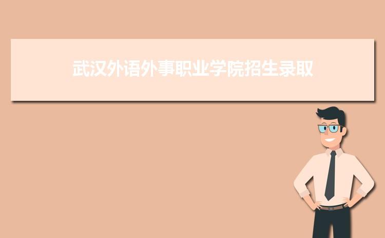 武汉外语外事职业学院招生录取规则和录取条件顺序政策解读2022参考