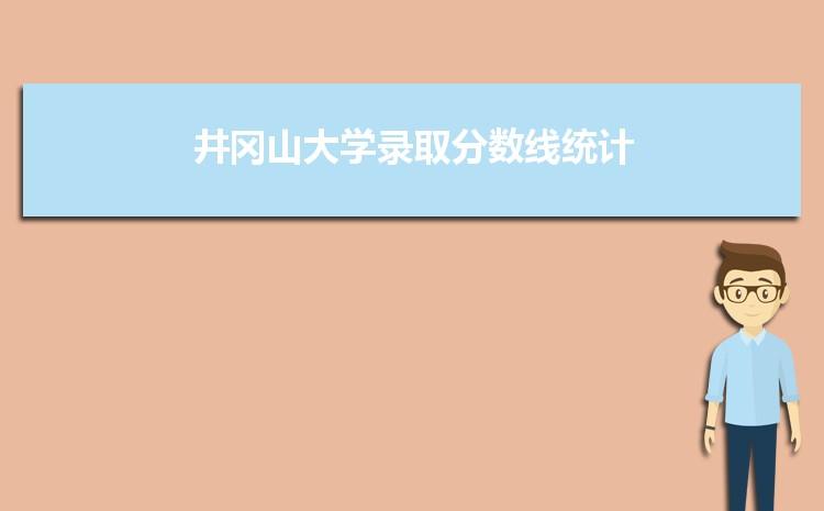 井冈山大学2021年录取分数线统计(附2019-2020年历年分数线)