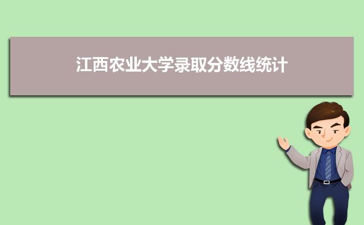 江西农业大学2021年录取分数线统计(附2019-2020年历年分数线)