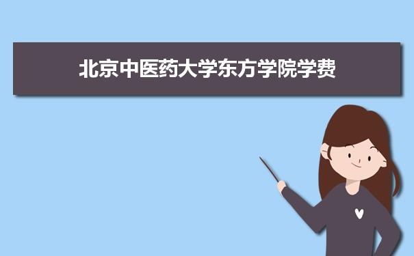 北京中医药大学东方学院2021年最低录取分数线多少分